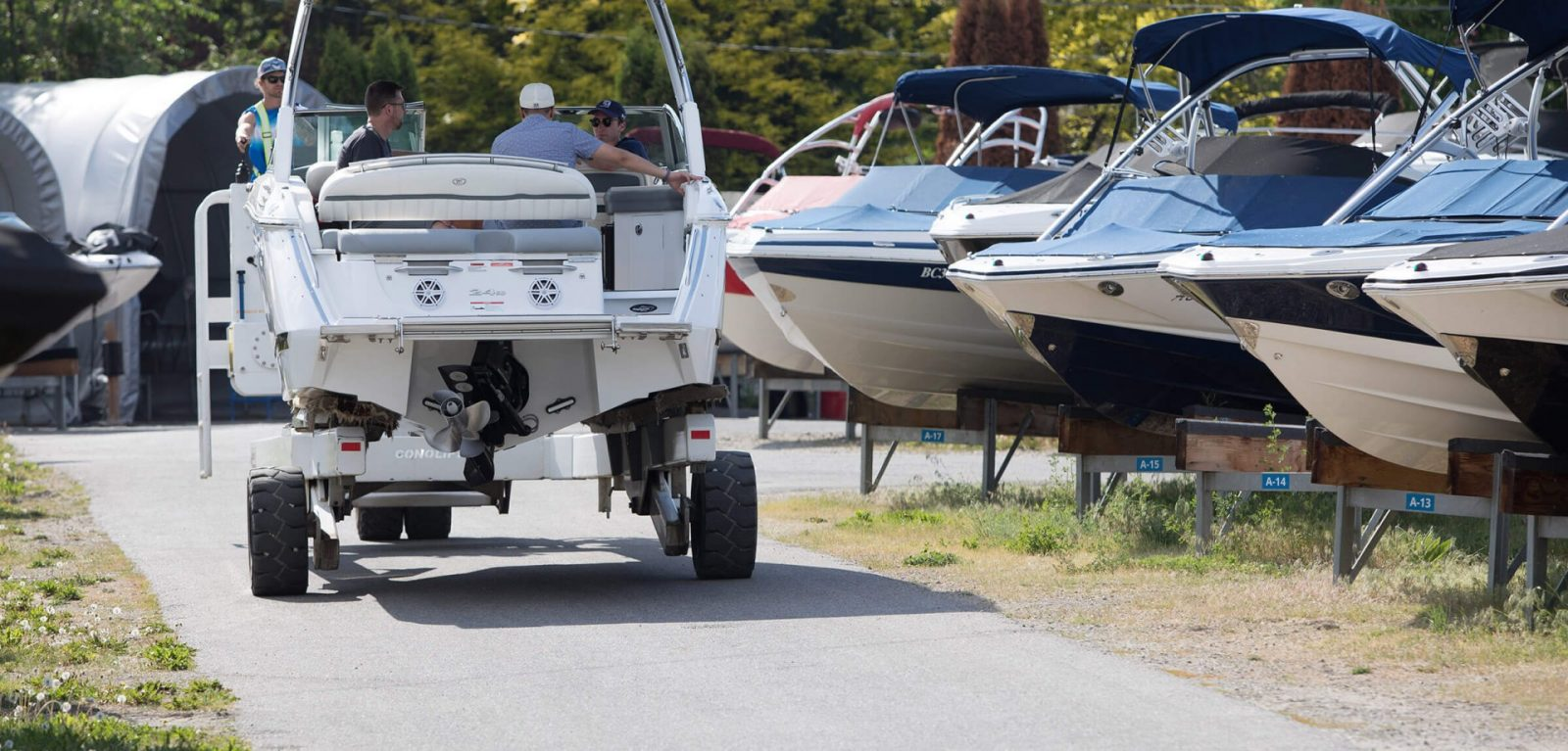 Boat valet services