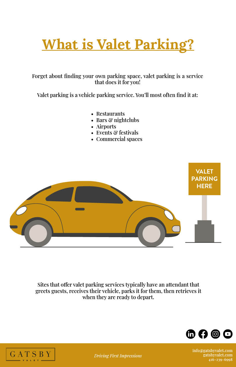 Description of valet parking services